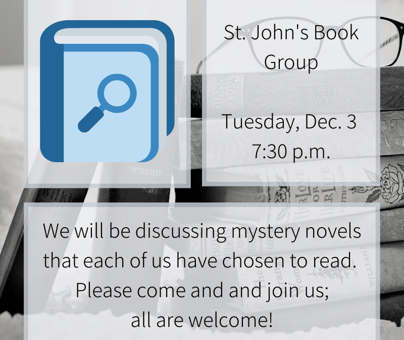 Book Group December Meeting