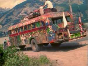 """Furthur,"" the 1939 International Harvester School Bus."