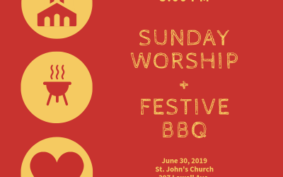 5:00 PM Worship + Barbecue