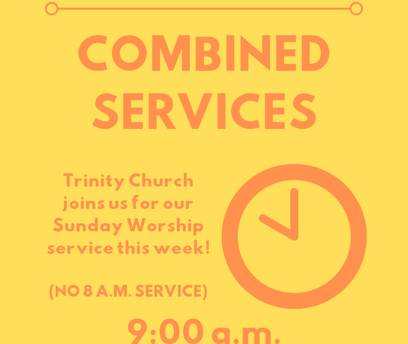 August Combined Services